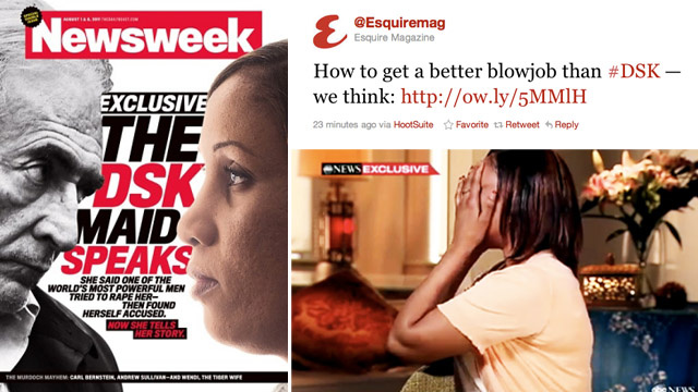 Esquire Sees Erotic Opportunity in DSK Rape Narrative