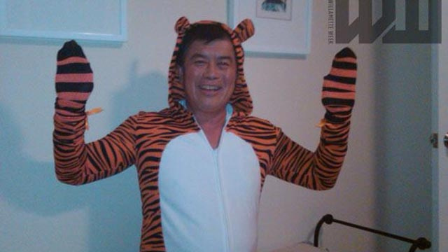 Why Is This Congressman Wearing a Fuzzy Tiger Costume?