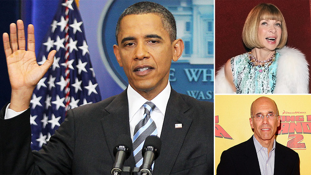 Meet Obama's Fancy Celebrity 'Bundlers'