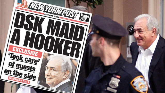DSK Accuser Sues NY Post for Calling Her 'A Hooker'