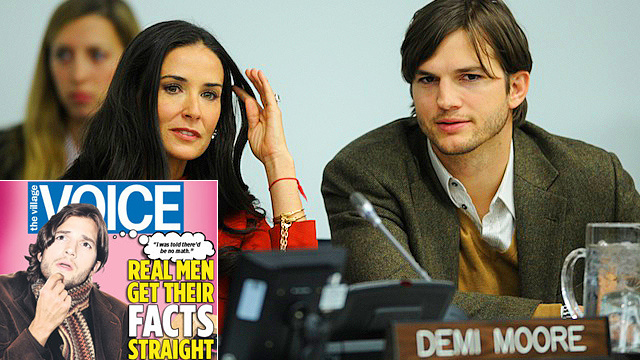 Ashton Kutcher Will Destroy Newspaper Over Sex Slavery Article