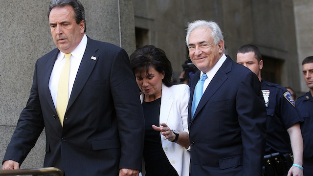 Dominique Strauss-Kahn Released Without Bail