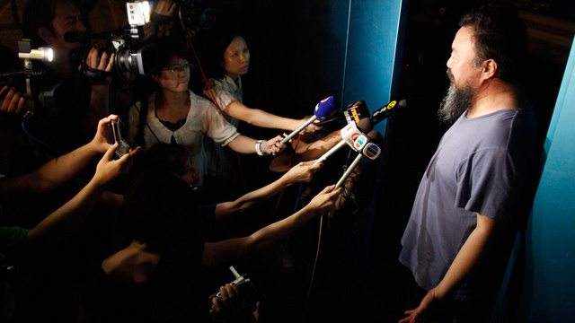 Chinese Artist Ai Weiwei Released