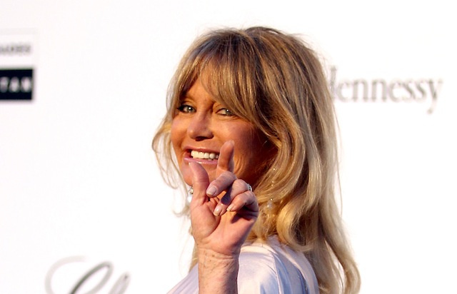 Goldie Hawn Is Back and Ready for Action