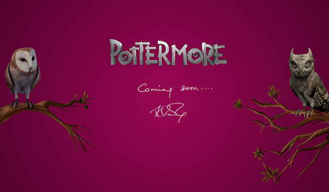 What Is J.K. Rowling's Mysterious New Website?