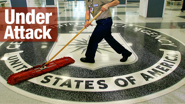 Hackers Take Down CIA Website