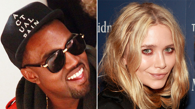 The Strange Story of Kanye West and Mary-Kate Olsen Making Out