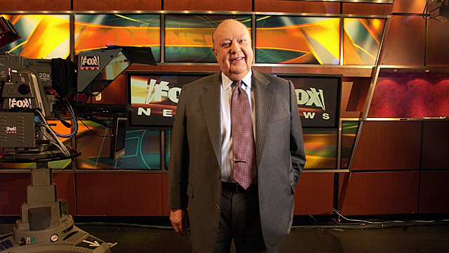 Roger Ailes Wants You to Throw a Rock Through His Window
