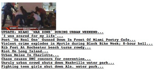 Matt Drudge Launches Black Teen Crime News Service