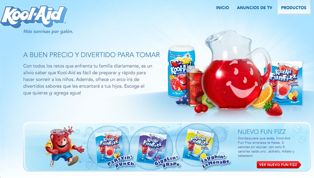 Kool Aid Wants Hispanic People Drinking Nothing But Kool Aid