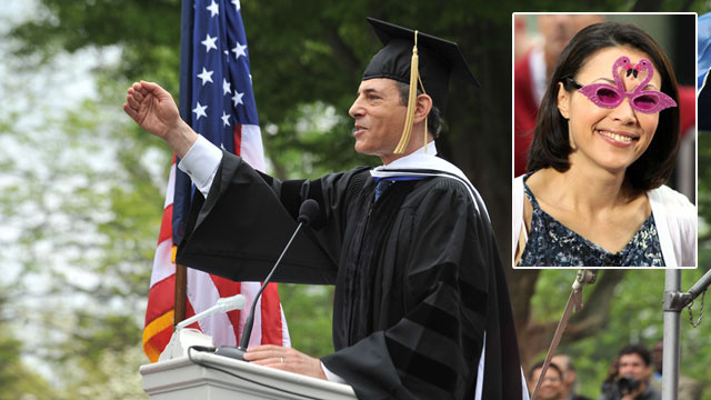 Time's Richard Stengel Mocks Ann Curry in Commencement Speech