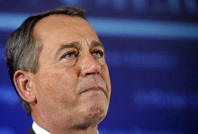 John Boehner Cried to College Kids Today
