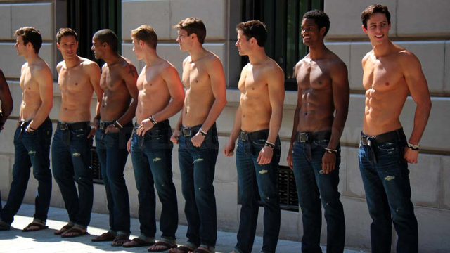 Shirtless Male Models Invade Paris