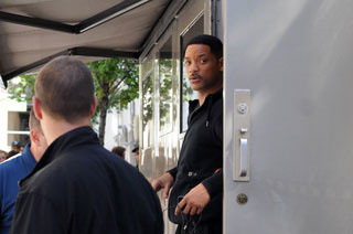 Mayor Bloomberg Banishes Will Smith's Trailer