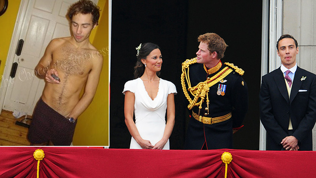 Kate Middleton's Brother Pretends to Be a Lawyer to Get His Dirty Pictures Off the Internet