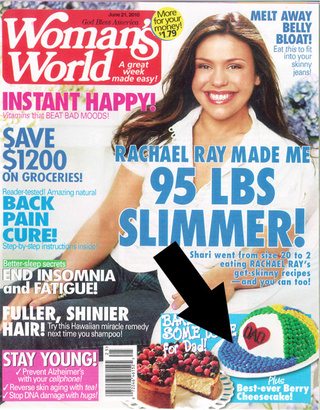 America's Most Conflicted Magazine: The Cupcakes and Diet Tips of Woman's World