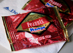 There's a Law Protecting Your Airplane Peanuts