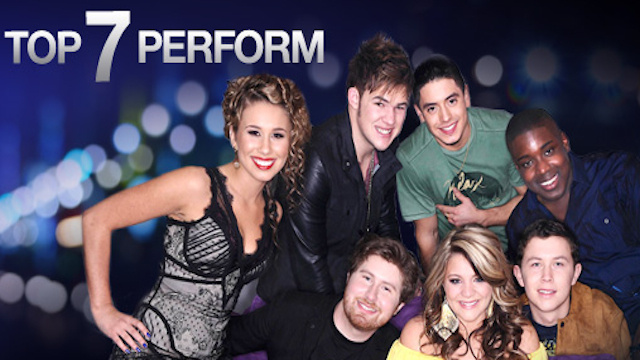 Live: American Idol's Top 7 Perform