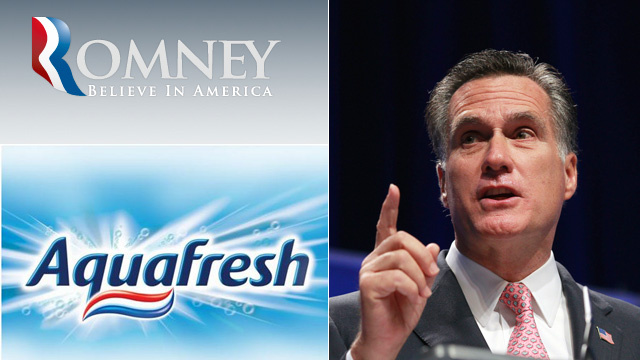 Did Mitt Romney Steal His Nurdle from Aquafresh?