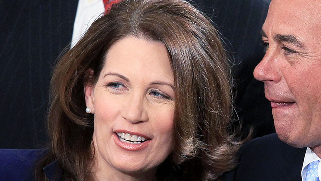 Michele Bachmann Only Needs One Presidential Term to Save America