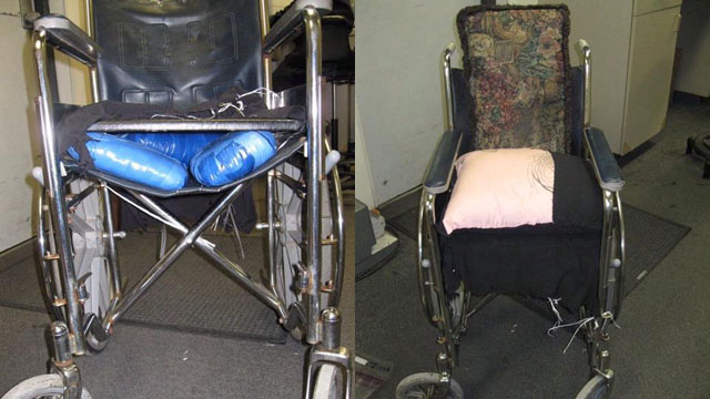 How Not to Hide $10,000 Worth of Pot in a Wheelchair