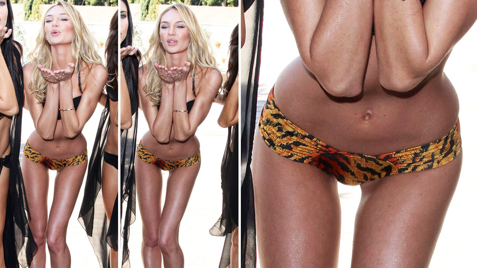 Skinny Model Bends Over, Shocks World with Her Skinniness