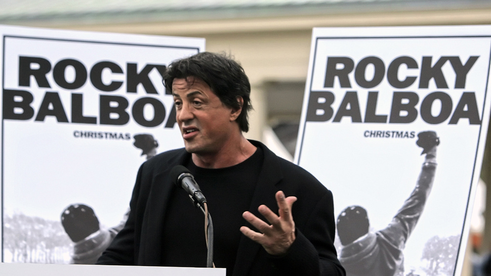 Sylvester Stallone Is Developing a Rocky and Rambo Clothing Line