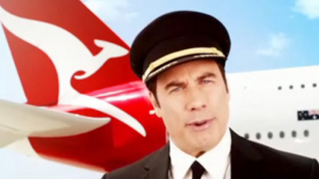The John Travolta's In-Flight Video That's Pissing Off Australia