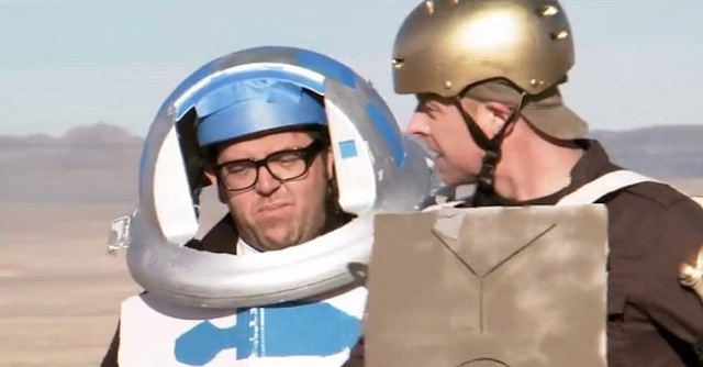 Simon Pegg and Nick Frost Hilariously Attempt to Remake Star Wars