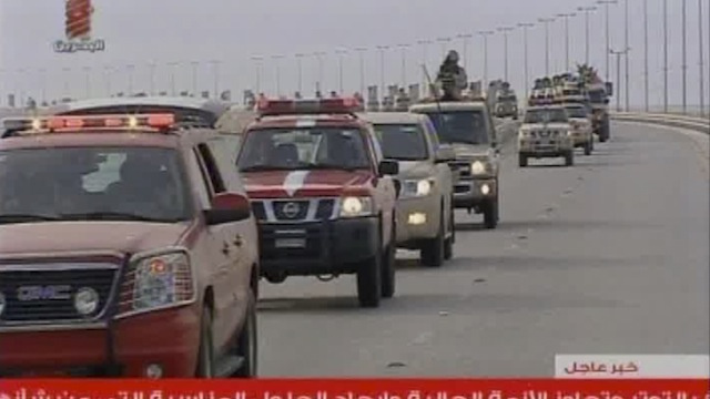 Saudi Arabian Troops Enter Bahrain