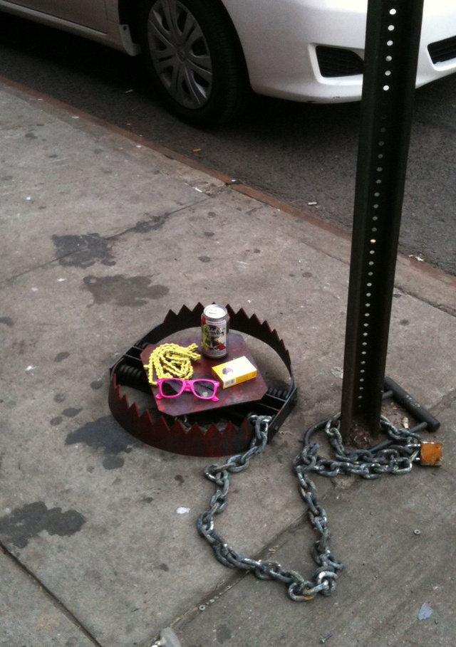 Someone Is Setting 'Hipster Traps' in New York