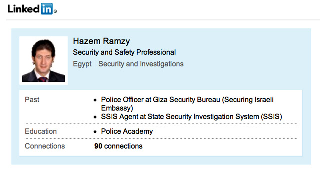 Egyptian Sniper Job Hunting on LinkedIn