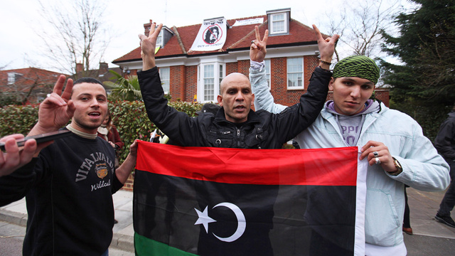 Activists Take Over Saif Qaddafi's London Mansion