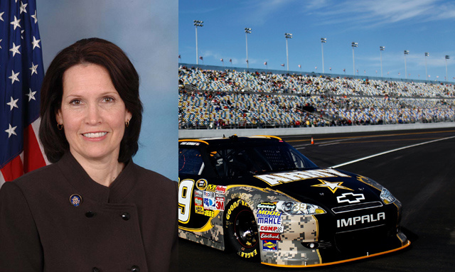 The Absurdly Racist Fax a Congresswoman Got for Bashing NASCAR
