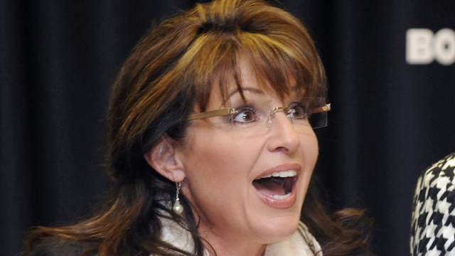 Fundraiser Canceled Immediately After Sarah Palin Signs On