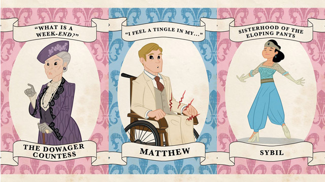 These Downton Abbey Trading Cards Will Distract You From Your Grief