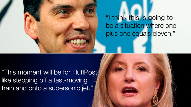 AOL Buys Huffington Post for $315 Million