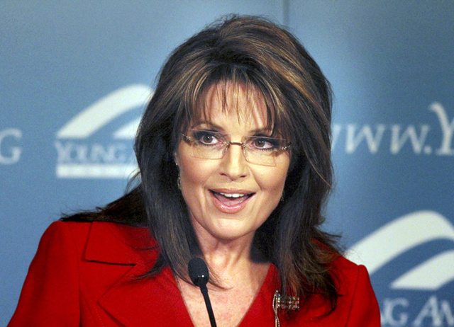 Sarah Palin™ Doesn't Trust Egypt's Protesters