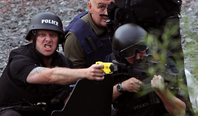 Tasers Will Keep Serfs Away from Britain's Royals