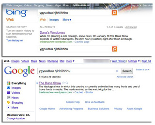 Is Bing Copying Google's Search Results?