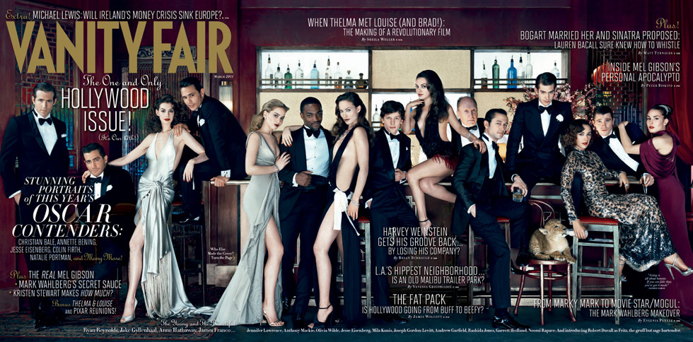 <em>Vanity Fair</em>'s Hollywood Issue Takes a Stab at Diversity
