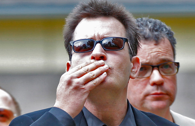 Charlie Sheen Heads to Rehab Once Again