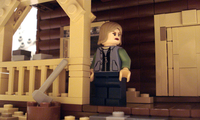 The Best Picture Oscar Nominees in Lego