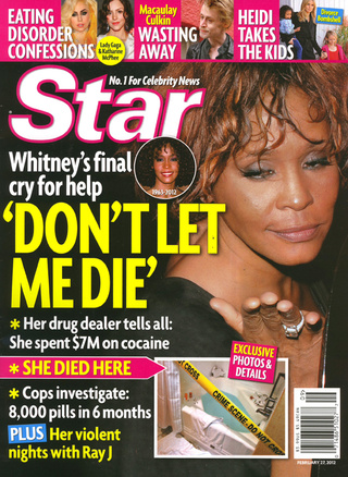 This Week In Tabloids: Whitney's Minions Cleaned Up the Cocaine Before Medics Arrived