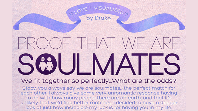 Clever Dude Proposes To Girlfriend Using Adorable Infographic