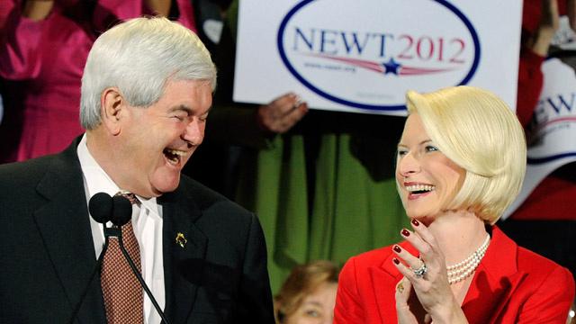 Newt Gingrich's Sexy Valentine's Day Plans Could Very Well Ruin Yours