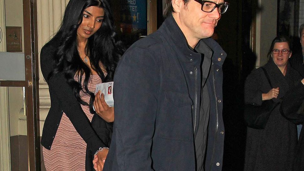 Jim Carrey Returns to His Model-Dating Roots