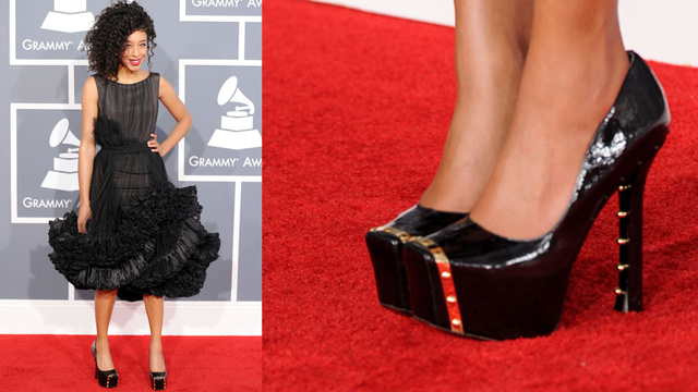 Sartorial Inanity Abounds on Grammys Red Carpet
