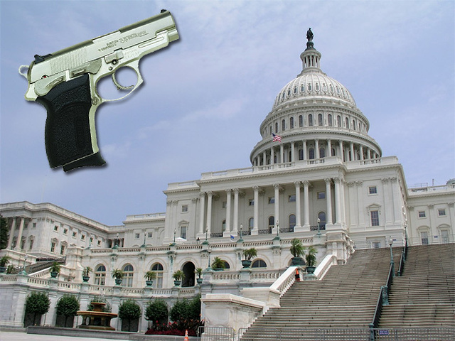 Dumbest Congress Member Wants Guns on the House Floor