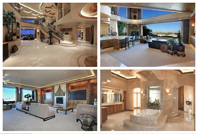 Nicolas Cage's Foreclosed Las Vegas Crazy Castle